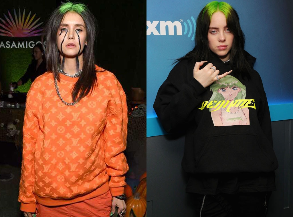 Billie Eilish, Nina Dobrev, 2019 Casamigos Halloween Party