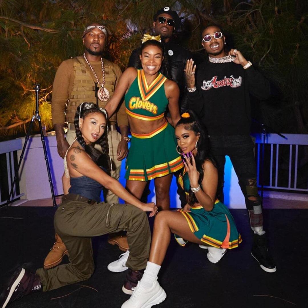 Gabrielle Union, Jeannie Mai, Jeezy, Quavo, Halloween 2019