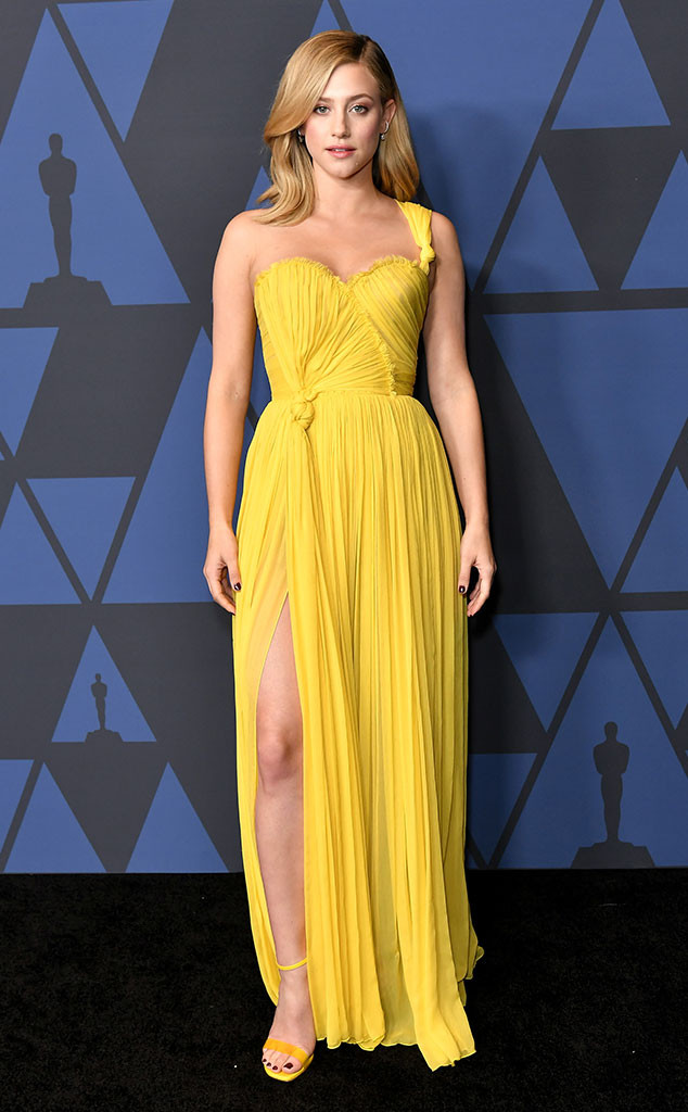 Lili Reinhart, Fashion Police Widget, 2019 Governors Awards