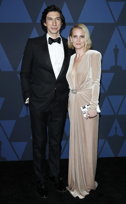 Adam Driver, Joanne Tucker, 2019 Governors Awards