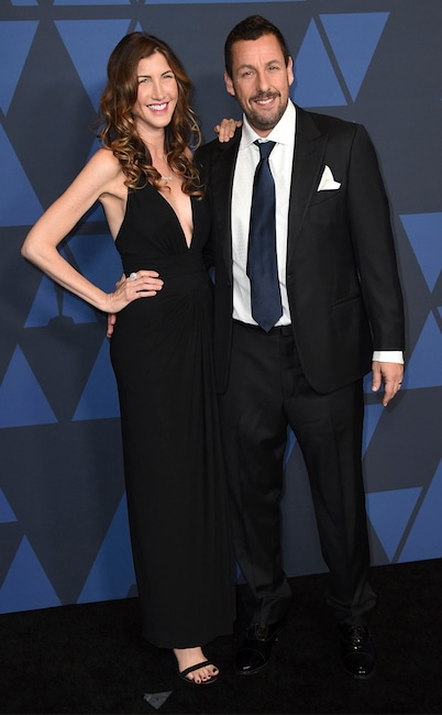 Adam Sandler, Jackie Sandler, 2019 Governors Awards