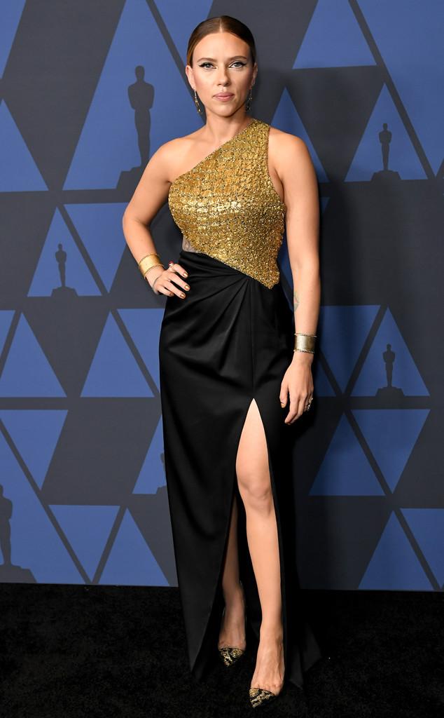 Scarlett Johansson, 2019 Governors Awards