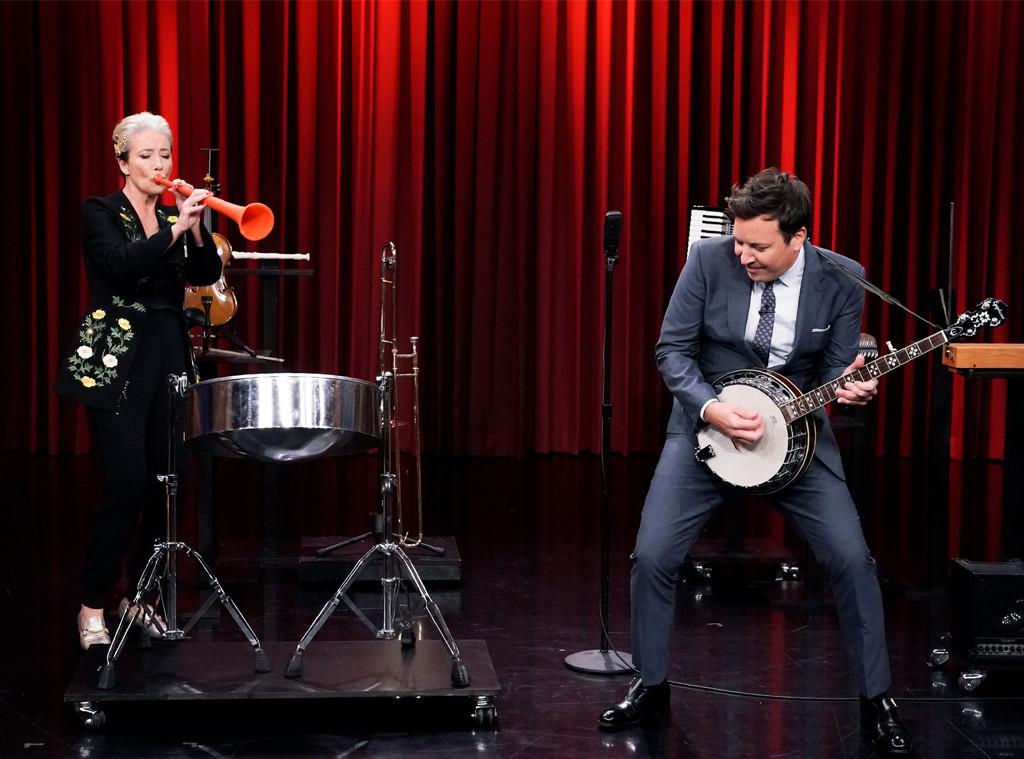 Emma Thompson, Jimmy Fallon, The Tonight Show