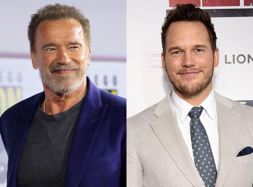 Arnold Schwarzenegger, Chris Pratt