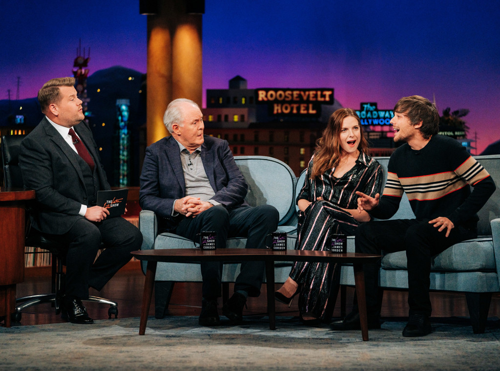 Louis Tomlinson, The Late Late Show with James Corden 2019