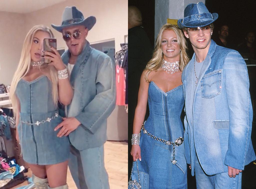 Tana Mongeau, Jake Paul, Britney Spears, Justin Timberlake, Denim Outfits, Costume