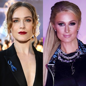 Evan Rachel Wood, Paris Hilton