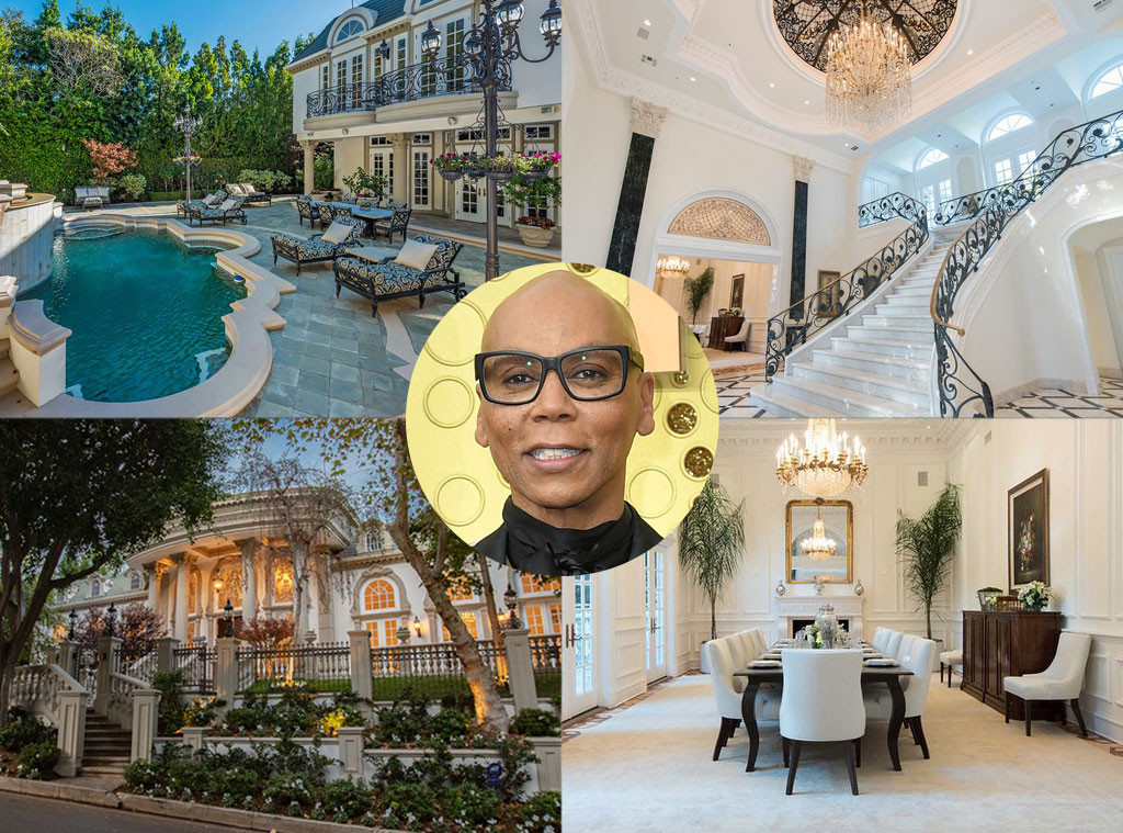 RuPaul, Beverly Hills home