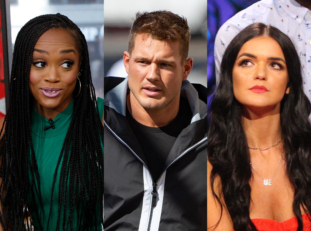 Watch Rachel Lindsay React To Colton Underwood S Petty Comments On Raven Gates Feud E Online
