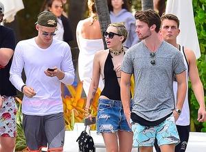 Miley Cyrus, Cody Simpson, Patrick Schwarzenegger