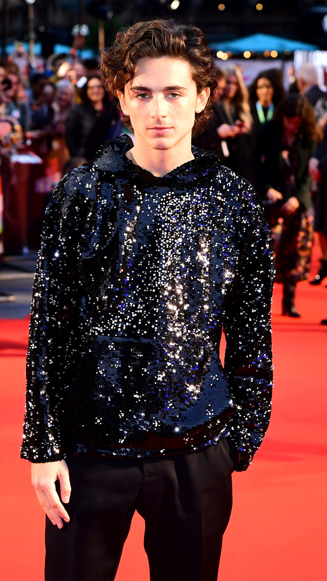 Timothee Chalamet, The King UK Premiere