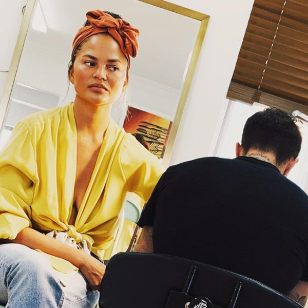 "Chrissy Teigen Is the Ultimate ""Cool Mom"" Thanks to Her Latest Tattoo"