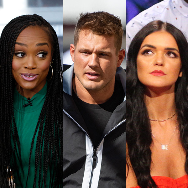 """Watch Rachel Lindsay React to Colton Underwood's """"Petty"""" Comments on Raven Gates Feud"""