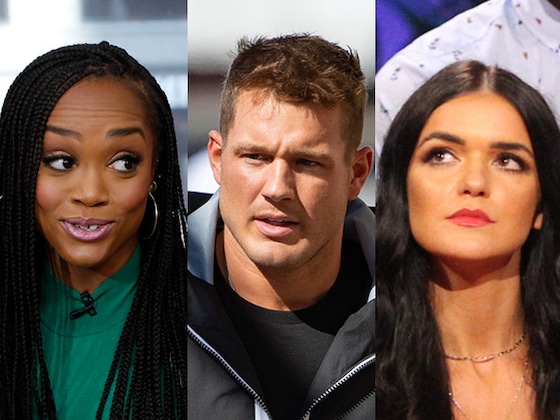 "Watch Rachel Lindsay React to Colton Underwood's ""Petty"" Comments on Raven Gates Feud"