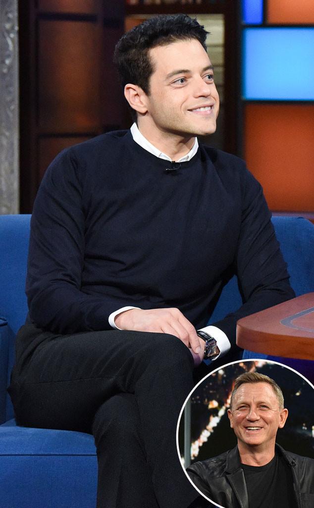 Rami Malek, Daniel Craig
