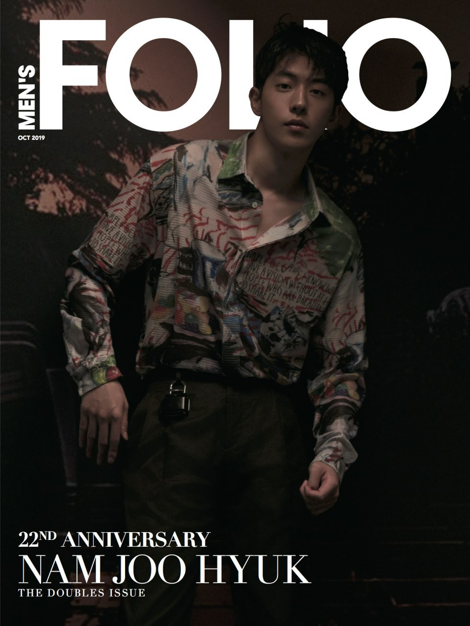 Nam Joo-hyuk, Men's Folio October 2019