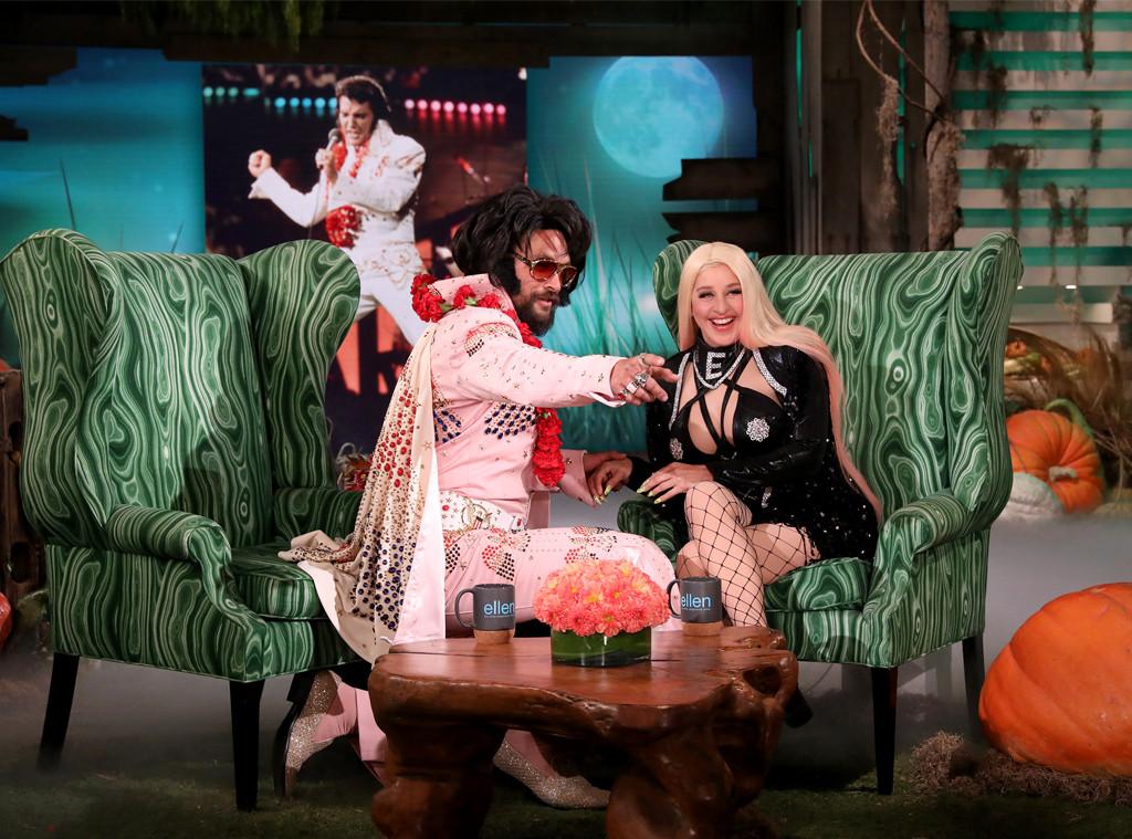 Jason Momoa, Elvis Halloween Costume, Ellen DeGeneres Show