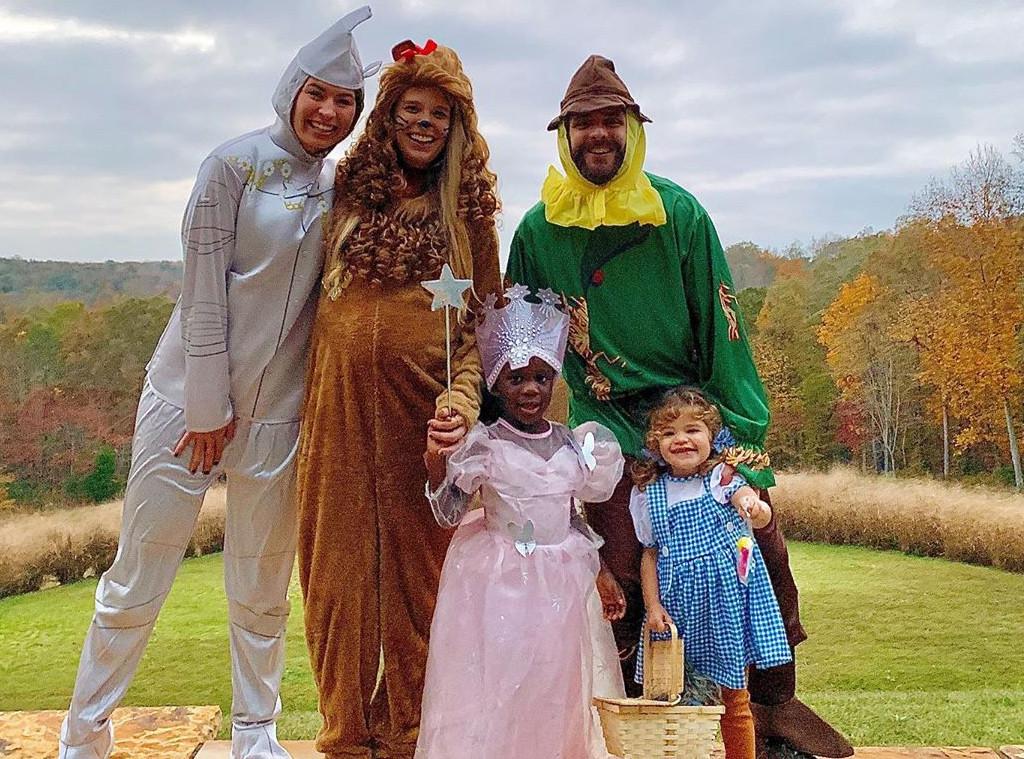 Thomas Rhett, Lauren Akins, Halloween 2019