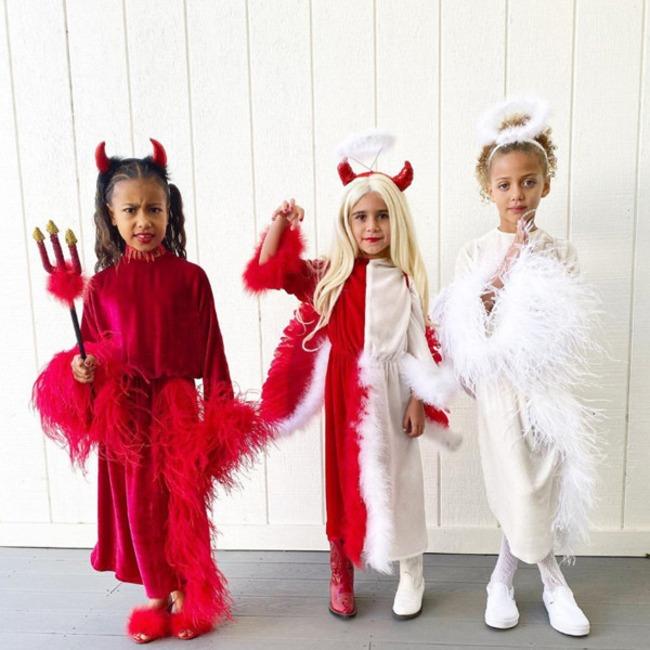 North West, Penelope Disick, Halloween 2019