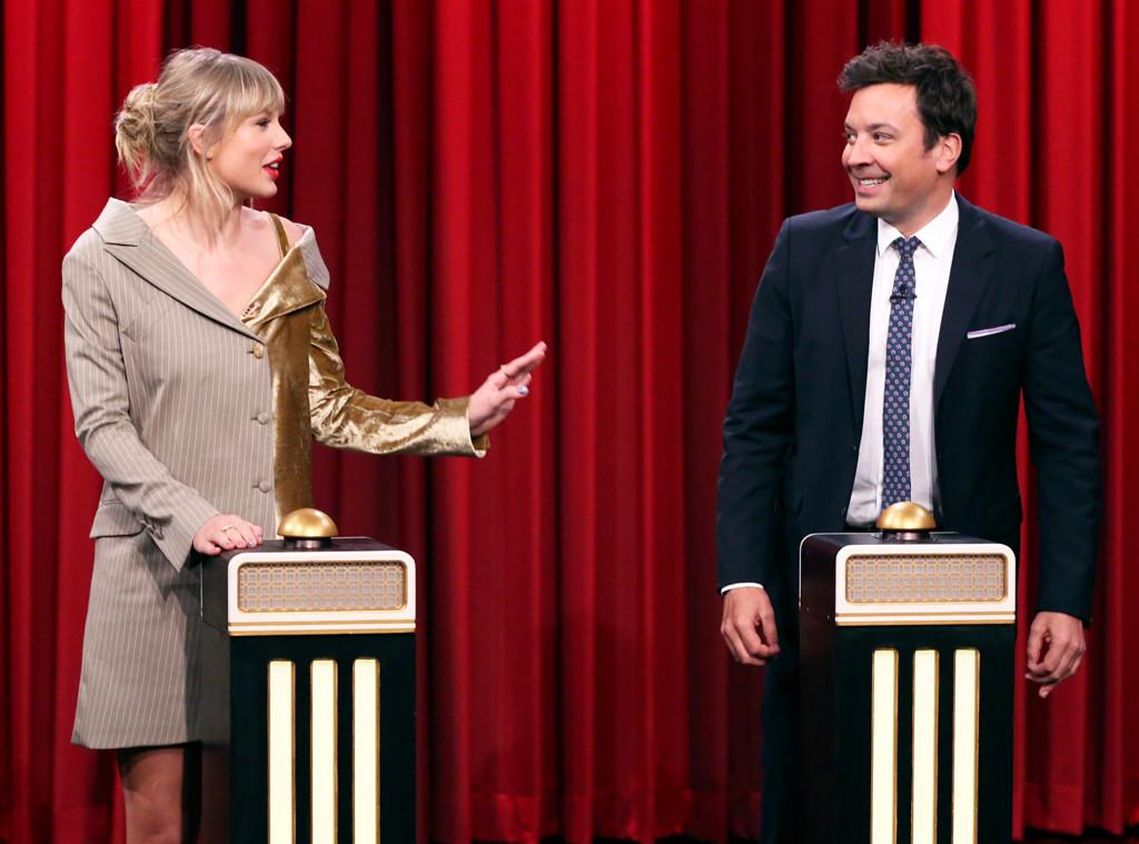 Taylor Swift, Jimmy Fallon, The Tonight Show 2019