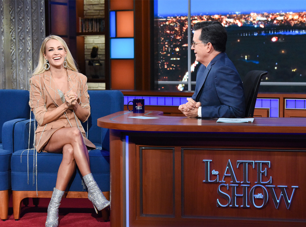 Carrie Underwood, The Late Show, Stephen Colbert