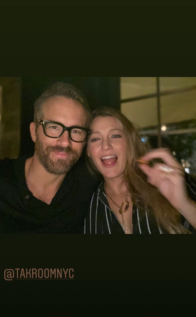 Blake Lively, Ryan Reynolds, Date Night Selfie