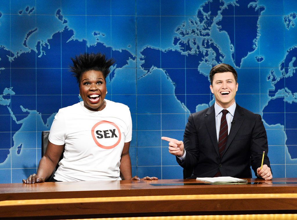 Leslie Jones, Colin Jost