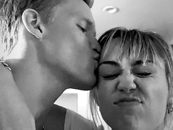 Miley Cyrus Gets a Serious Case of the Butterflies as Cody Simpson Reads Her a Love Poem