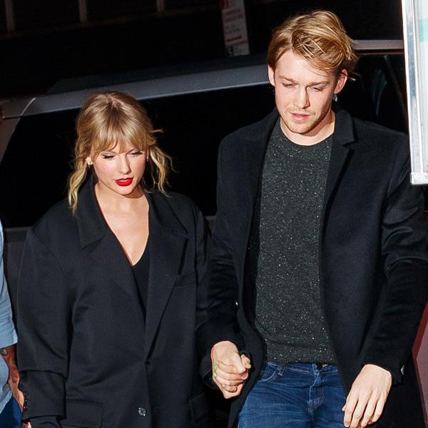 Taylor Swift é flagrada em momento raro com Joe Alwyn e sogra - E! Online Brasil