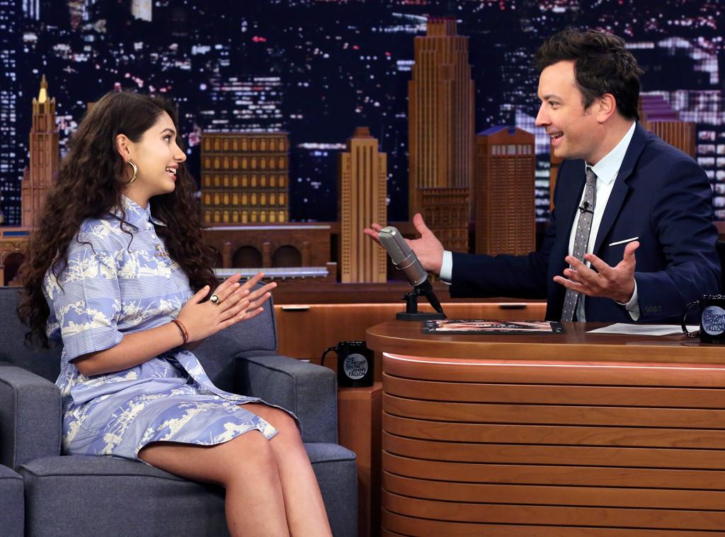 Alessia Cara, Jimmy Fallon, The Tonight Show, October 2019