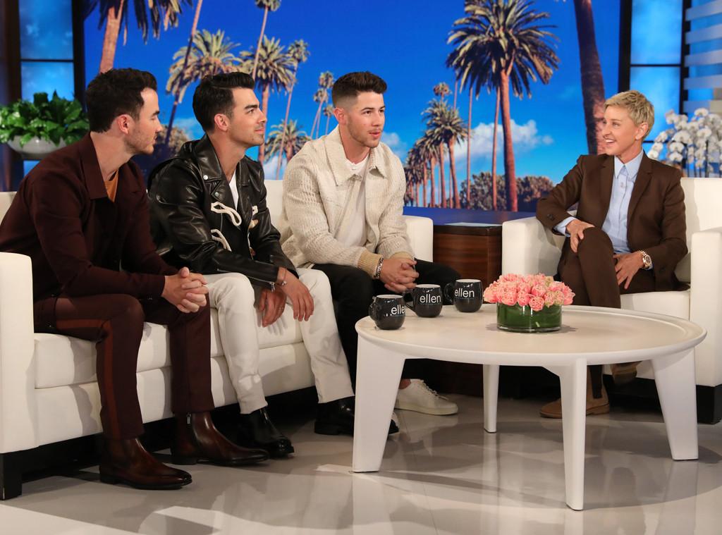 Jonas Brothers, Nick Jonas, Joe Jonas, Kevin Jonas, Jonas Brothers, The Ellen DeGeneres Show