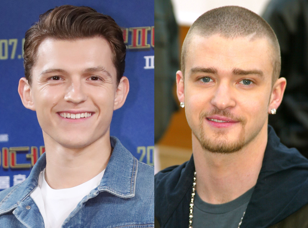 Tom Holland, Justin Timberlake