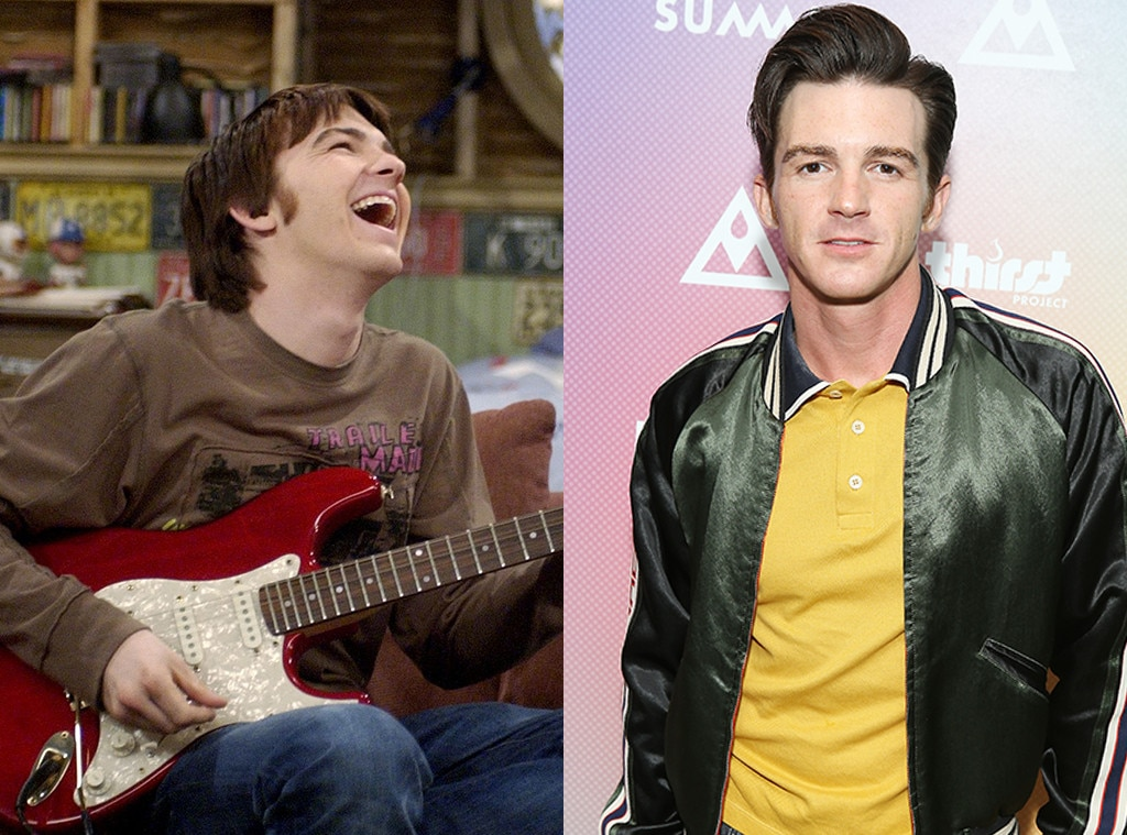 Nickelodeon Stars, Then and Now, Drake Bell