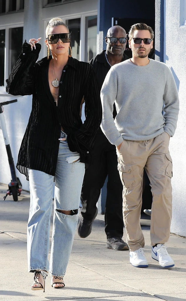 Khloe Kardashian & Scott Disick from The Big Picture ...