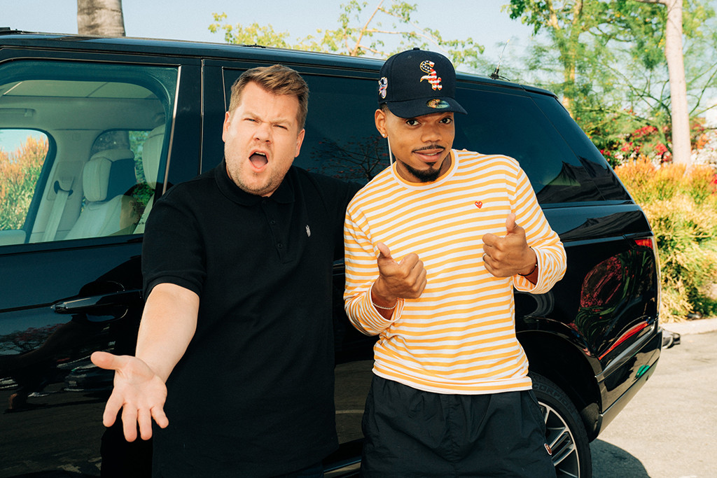 Chance the Rapper, James Corden