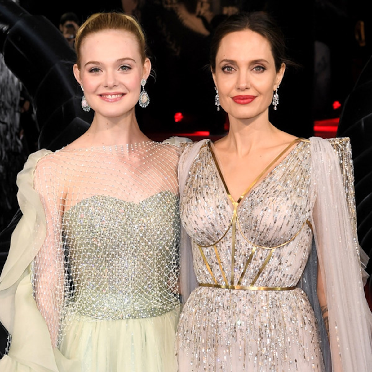 Angelina Jolie And Elle Fanning Look Like Real Life Disney
