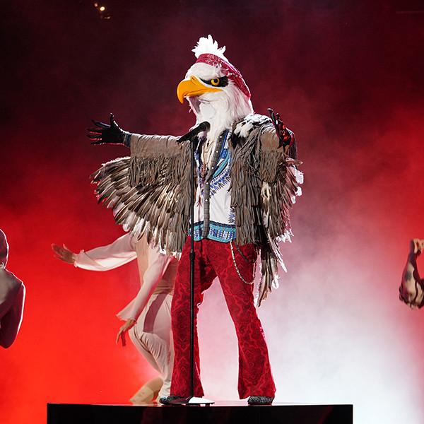 The Masked Singer Unmasks the Eagle