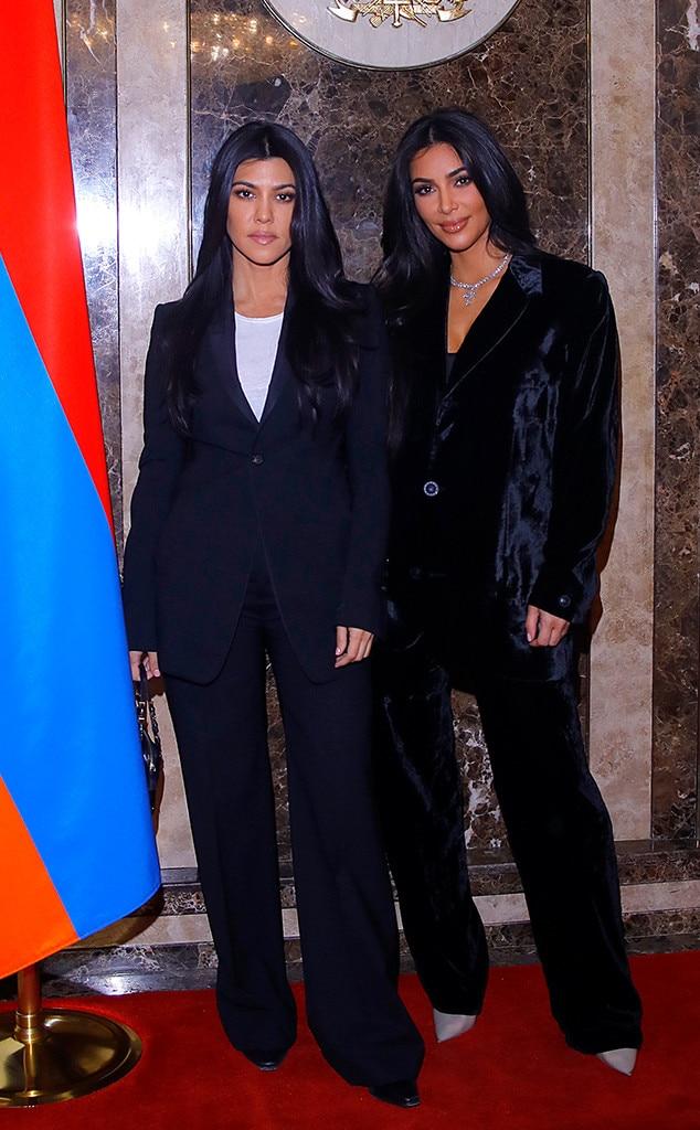 Kim Kardashian, Kourtney Kardashian Armenia Trip
