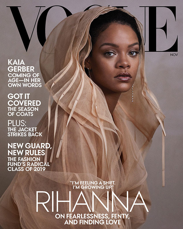 Rihanna, Vogue, November 2019