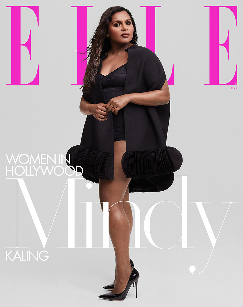 Mindy Kaling, ELLE, November 2019
