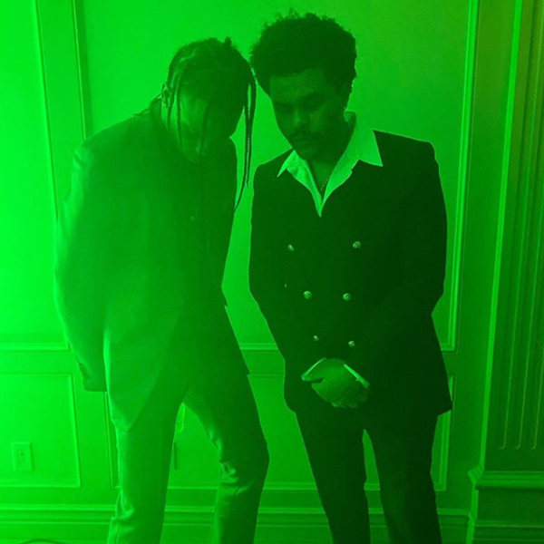 Travis Scott, The Weeknd, New Year's Eve 2019