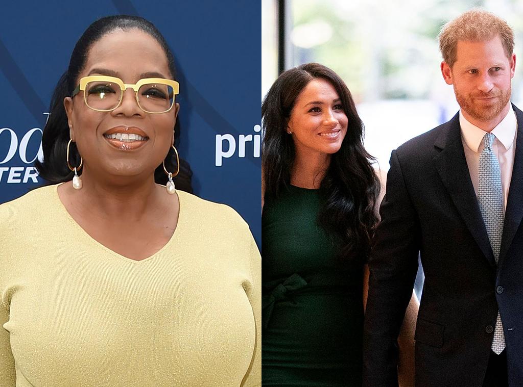 Oprah Winfrey, Prince Harry, Meghan Markle