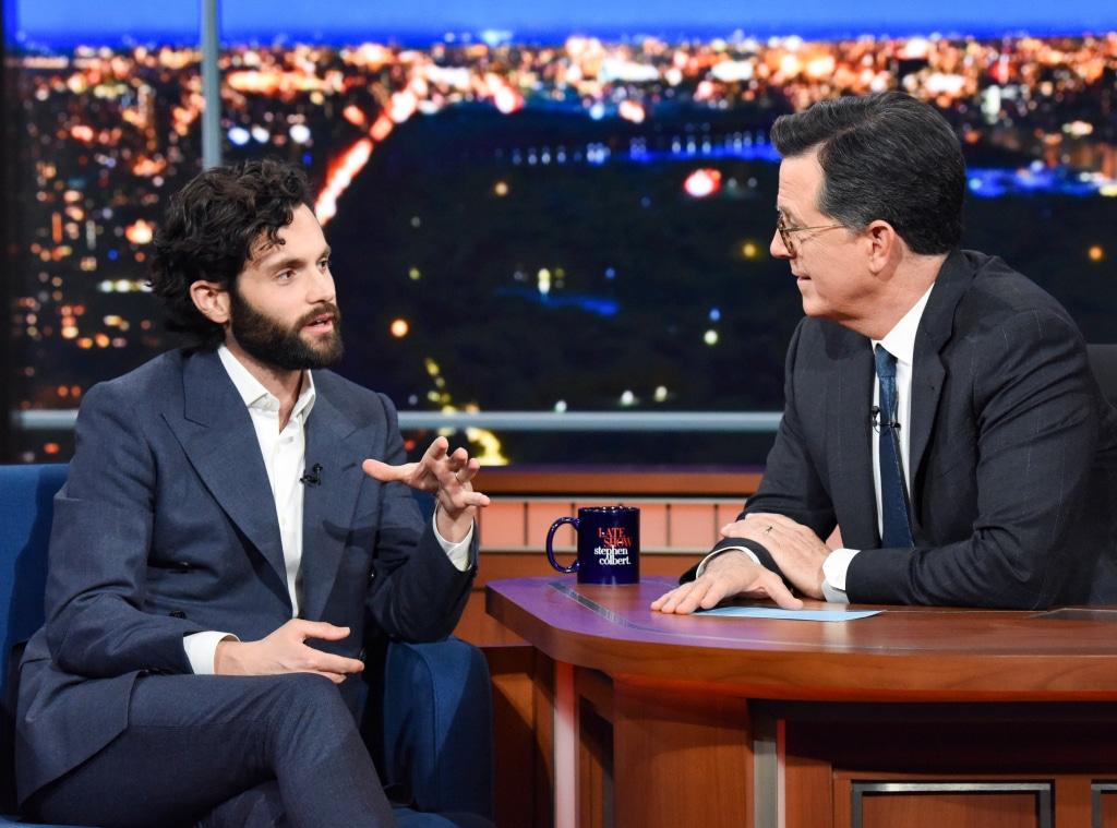 Penn Badgely, Late Show, Stephen Colbert