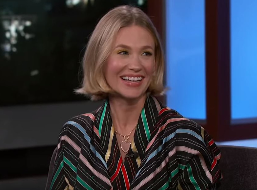 January Jones, Jimmy Kimmel Live 2020