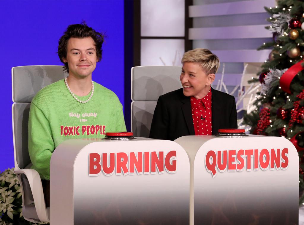 Harry Styles, Ellen DeGeneres Show