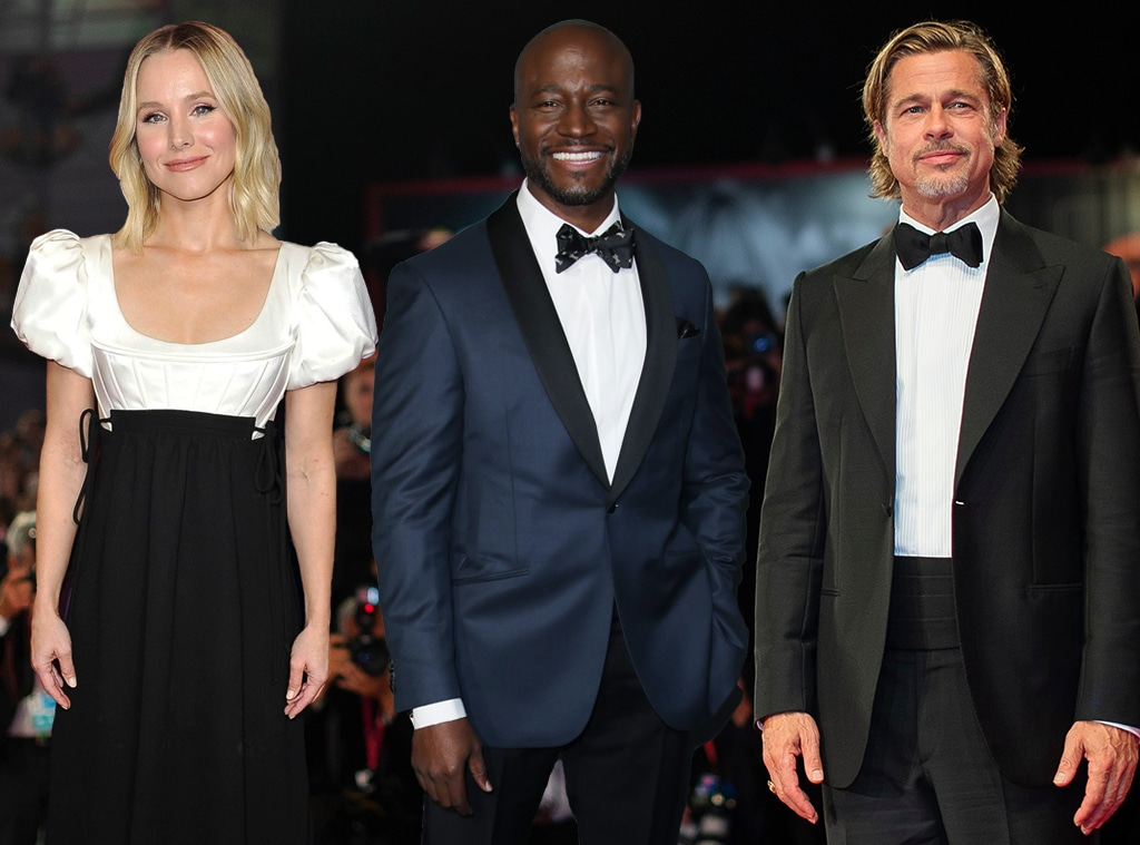 Kristen Bell, Taye Diggs, Brad Pitt, Critics' Choice Awards
