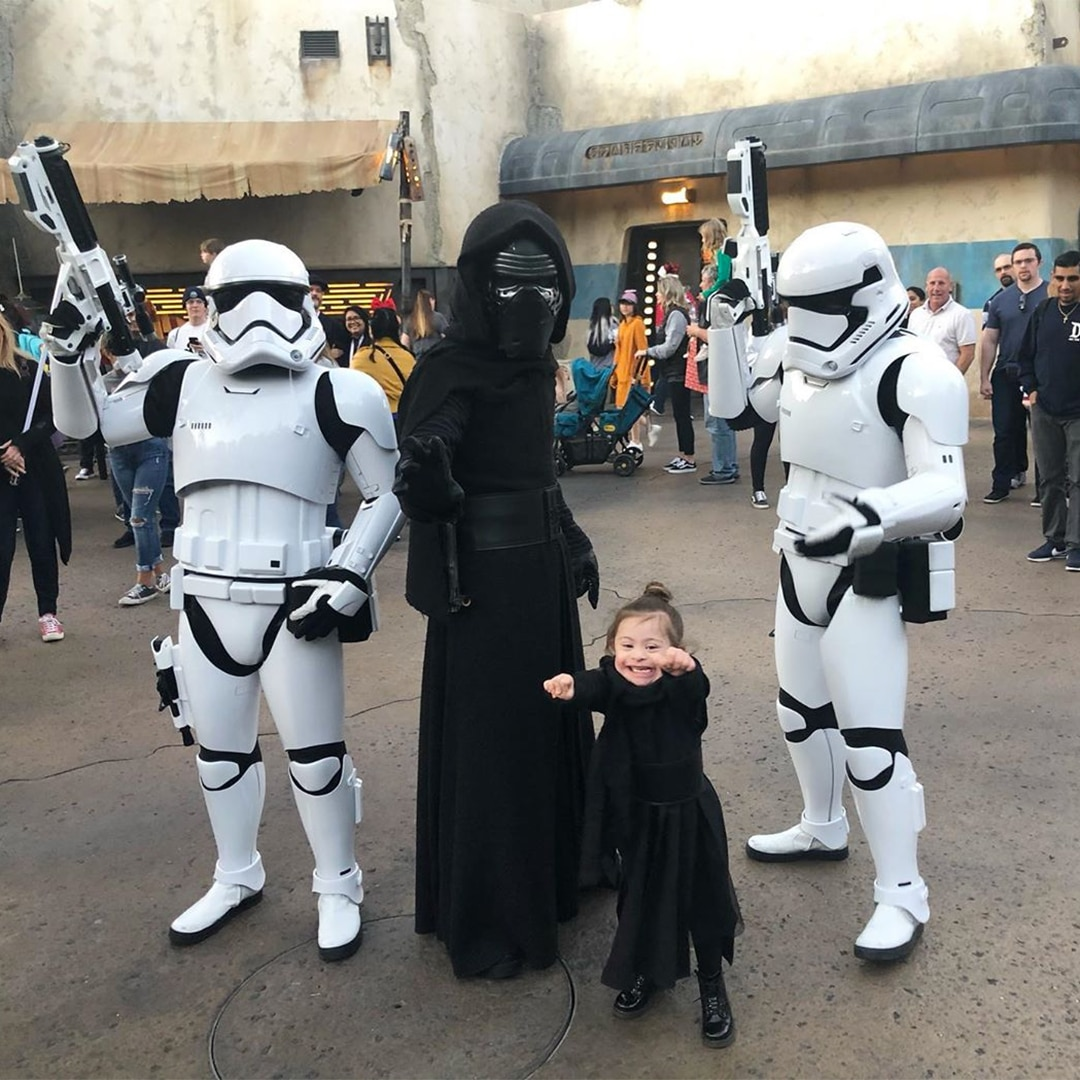 Kids and Parents celebrate Star Wars