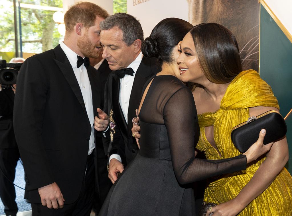 Meghan Markle, Prince Harry, Beyonce, Robert Iger