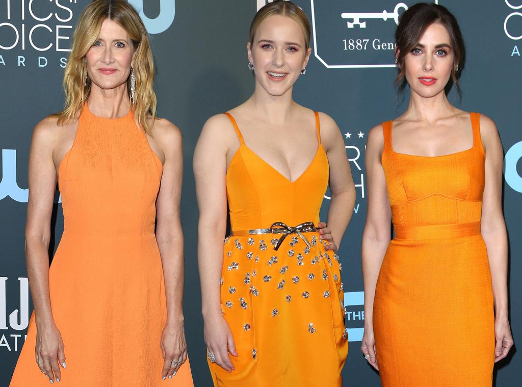 Laura Dern, Rachel Brosnahan, Alison Brie, 2020 Critics Choice Awards, Red Carpet Fashion