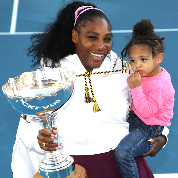 Serena Williams Wins First Title Since Becoming a Mom and Celebrates With Her Family